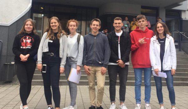Gruppenbild Schüler aus EF